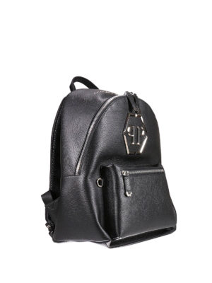 Philipp Plein: backpacks online - Nicosia leather backpack