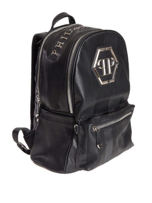 Philipp Plein: backpacks online - Oceano backpack with logo