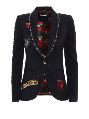 Philipp Plein: blazers - Jane embellished blazer