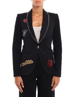 Philipp Plein: blazers online - Jane embellished blazer