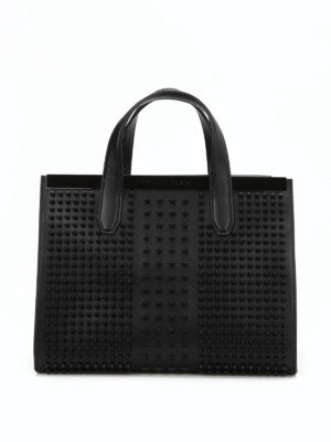 Philipp Plein: bowling bags - Unpredictable large bowling bag
