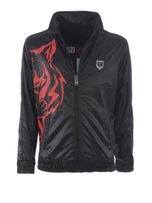 Philipp Plein: casual jackets - Airplane jogging jacket