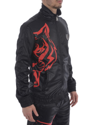 Philipp Plein: casual jackets online - Airplane jogging jacket