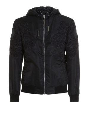 Philipp Plein: casual jackets - Unplesant embroidered jacket