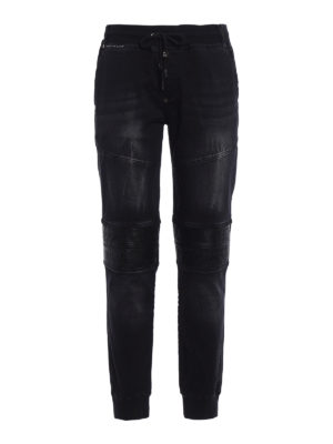Philipp Plein: casual trousers - Nets Slim Shady Chill pants