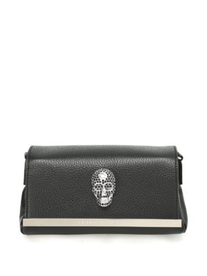 Philipp Plein: clutches - Beauty leather clutch