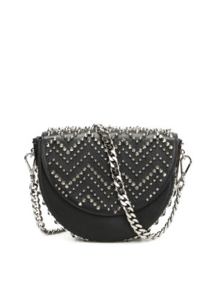 Philipp Plein: cross body bags - Game-1 studded crossbody
