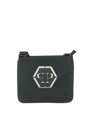 Philipp Plein: cross body bags - Kansas logo crossbody