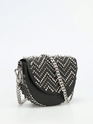 Philipp Plein: cross body bags online - Game-1 studded crossbody