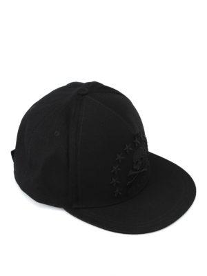 PHILIPP PLEIN: cappelli - Cappellino da baseball Energy 78 nero