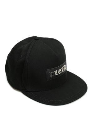 Philipp Plein: hats & caps - Gothic baseball cap