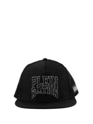 Philipp Plein: hats & caps online - Palm Bay black logo cap