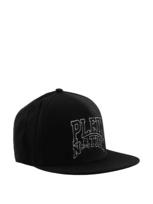 Philipp Plein: hats & caps - Palm Bay black logo cap