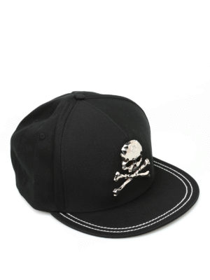 Philipp Plein: hats & caps - X-Men baseball hat