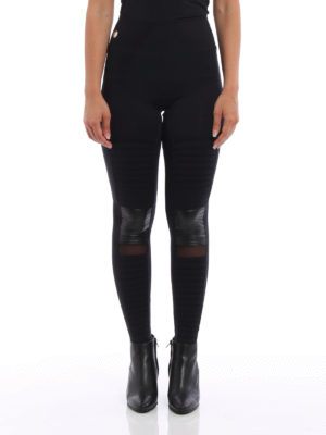 Philipp Plein: leggings online - Sandy Crystal leggings