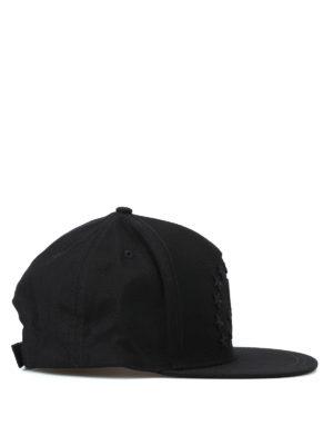 PHILIPP PLEIN: cappelli online - Cappellino da baseball Energy 78 nero