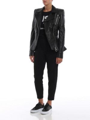 PHILIPP PLEIN: giacche in pelle online - Giacca Ailena in morbida nappa