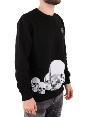PHILIPP PLEIN: Felpe e maglie online - Felpa Skulls in cotone