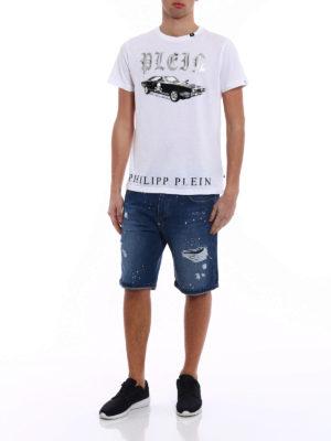 PHILIPP PLEIN: t-shirt online - T-shirt in cotone Sam Smith