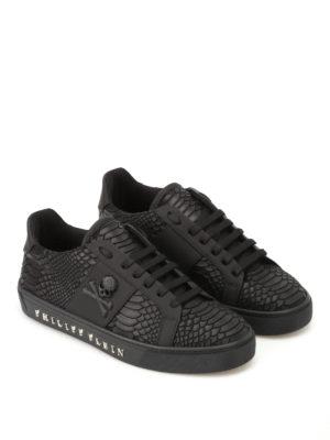 PHILIPP PLEIN: sneakers online - Sneaker in finta pelle Talk Slow