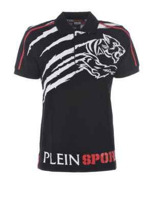 Philipp Plein: polo shirts - Lee cotton pique polo
