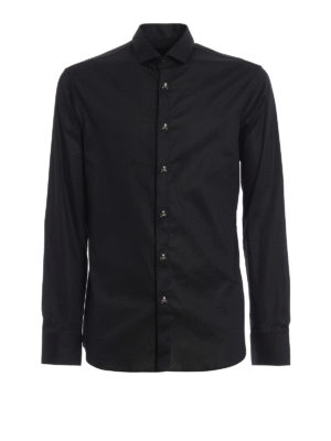 Philipp Plein: shirts - Carter Skull embellished shirt