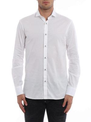 Philipp Plein: shirts online - Carter Skull embellished shirt