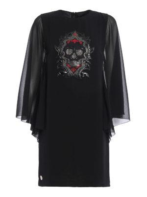 Philipp Plein: short dresses - Alvarado frilled sleeves dress