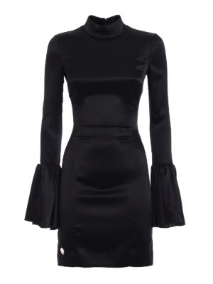 Philipp Plein: short dresses - Ceruel sateen dress