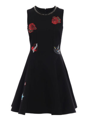 Philipp Plein: short dresses - Kaless embellished flared dress