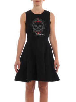 Philipp Plein: short dresses online - Copeck flared dress