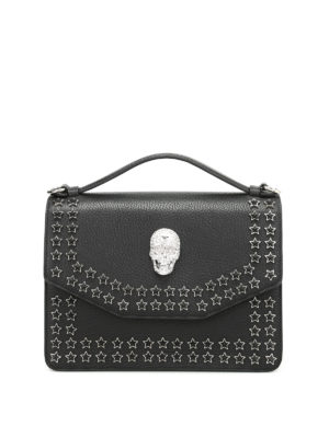 Philipp Plein: shoulder bags - Anniversary leather bag