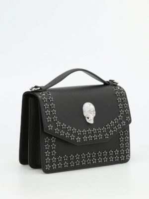 Philipp Plein: shoulder bags online - Anniversary leather bag