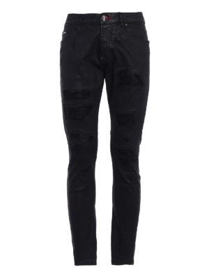 Philipp Plein: skinny jeans - Don't care super straight cut jeans