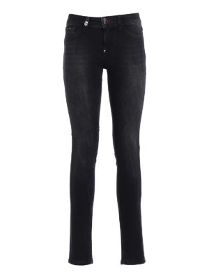 PHILIPP PLEIN: jeans skinny - Jeggings Only Time