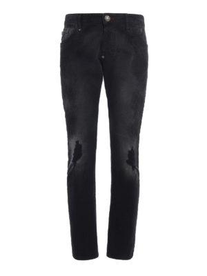 Philipp Plein: straight leg jeans - Bakeneko jeans