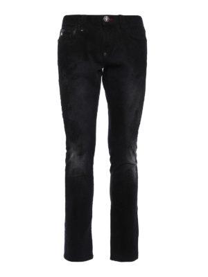 Philipp Plein: straight leg jeans - Basan slim fit jeans