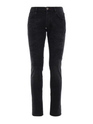 Philipp Plein: straight leg jeans - Misao-Super Straight Cut jeans