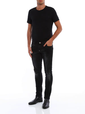 Philipp Plein: straight leg jeans online - Basan slim fit jeans