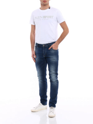 Philipp Plein: straight leg jeans online - Be Mine jeans
