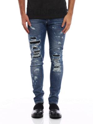 Philipp Plein: straight leg jeans online - Cange super straight cut jeans