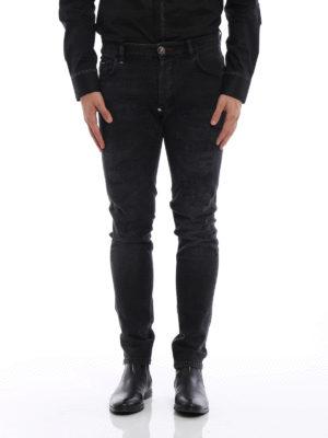 Philipp Plein: straight leg jeans online - Misao-Super Straight Cut jeans