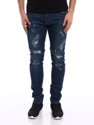 Philipp Plein: straight leg jeans online - Seem super straight jeans