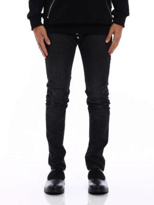 Philipp Plein: straight leg jeans online - Worth faded denim jeans
