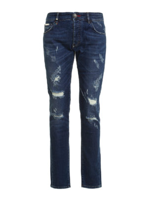 Philipp Plein: straight leg jeans - Seem super straight jeans