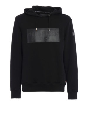 Philipp Plein: Sweatshirts & Sweaters - Alan cotton hoodie