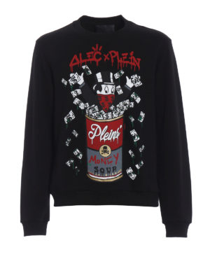 Philipp Plein: Sweatshirts & Sweaters - Alec's Money cotton sweatshirt