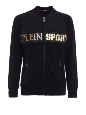 Philipp Plein: Sweatshirts & Sweaters - Gold Baby Plein Sport sweatshirt