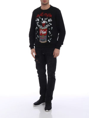 Philipp Plein: Sweatshirts & Sweaters online - Alec's Money cotton sweatshirt