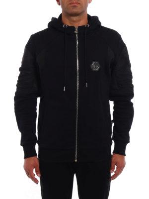 Philipp Plein: Sweatshirts & Sweaters online - Ansya hooded zip sweat jacket